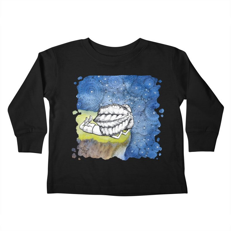 Starry Night from Karambola - no title Kids Toddler Longsleeve T-Shirt by holypangolin