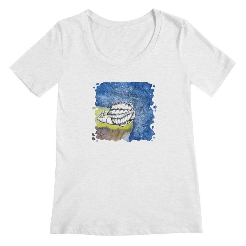 Starry Night from Karambola - no title Women's Regular Scoop Neck by holypangolin