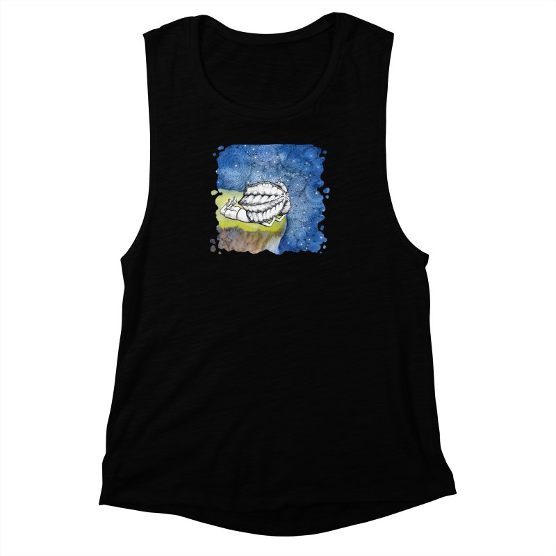 Starry Night from Karambola - no title Women's Muscle Tank by holypangolin