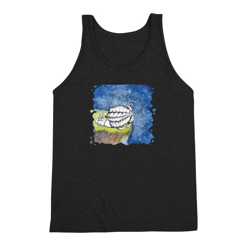 Starry Night from Karambola - no title Men's Triblend Tank by holypangolin