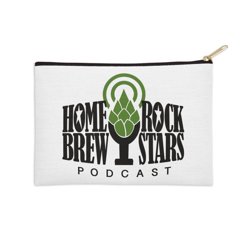 Official Logo Accessories Zip Pouch by HomeBrew RockStars Merch Shop