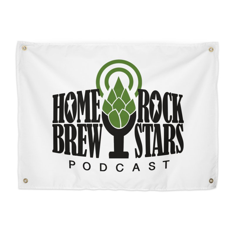 Official Logo Home Tapestry by HomeBrew RockStars Merch Shop