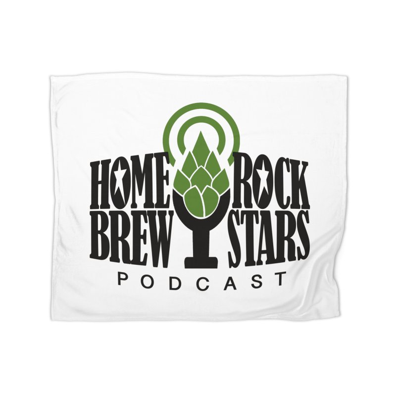 Official Logo Home Blanket by HomeBrew RockStars Merch Shop