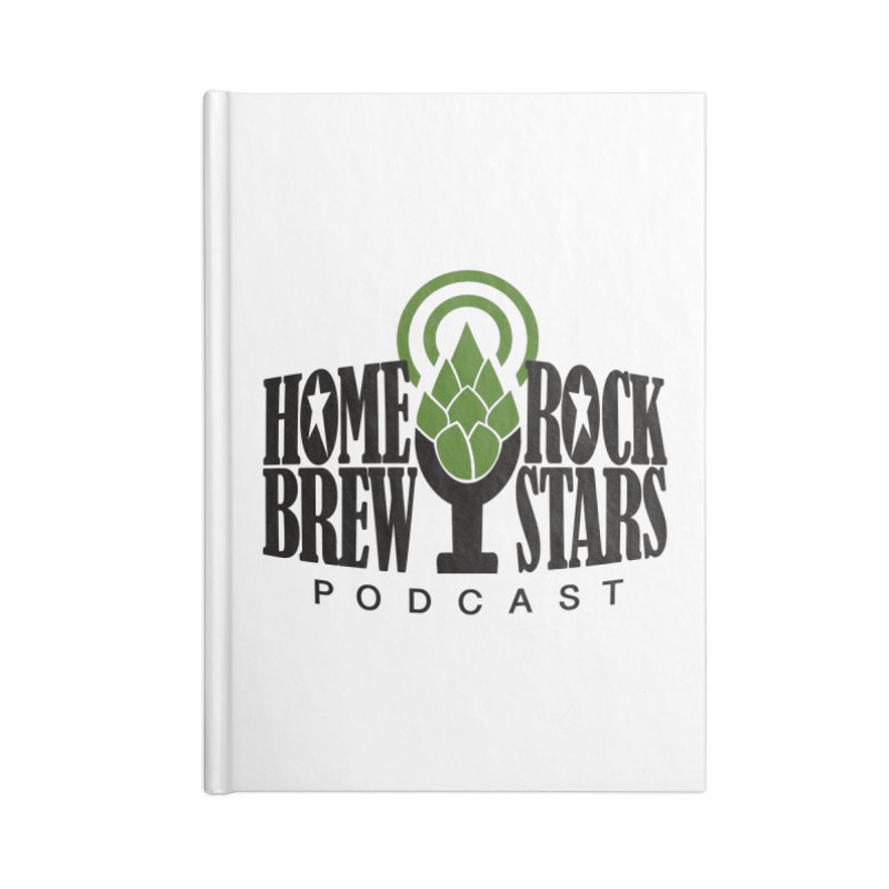 Official Logo Accessories Notebook by HomeBrew RockStars Merch Shop