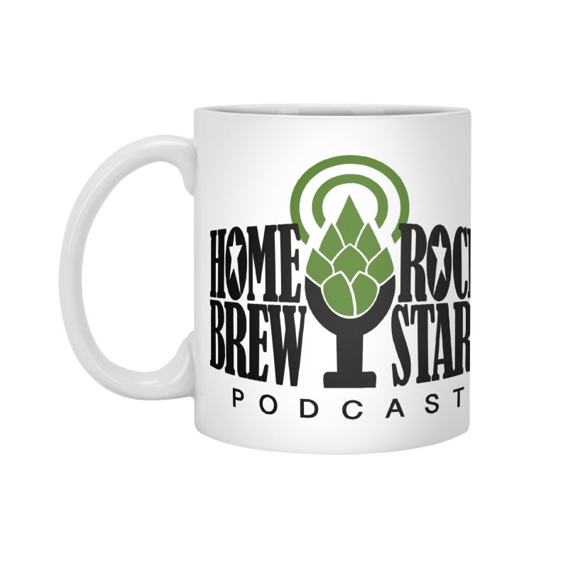 Official Logo Accessories Standard Mug by HomeBrew RockStars Merch Shop