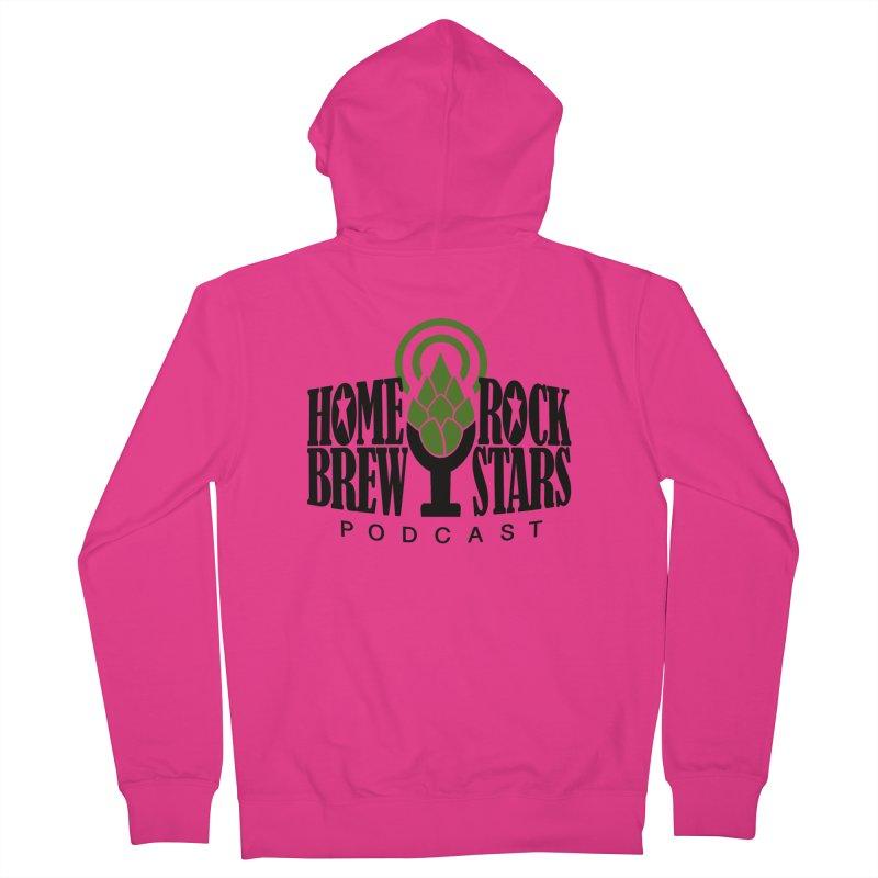 Official Logo Men's Zip-Up Hoody by HomeBrew RockStars Merch Shop