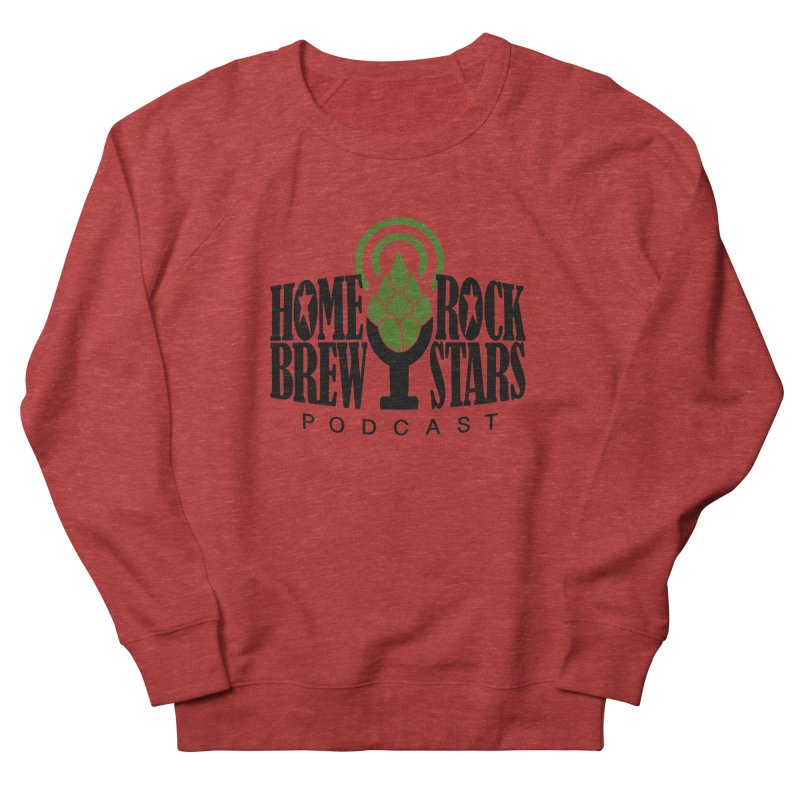 Official Logo Men's French Terry Sweatshirt by HomeBrew RockStars Merch Shop