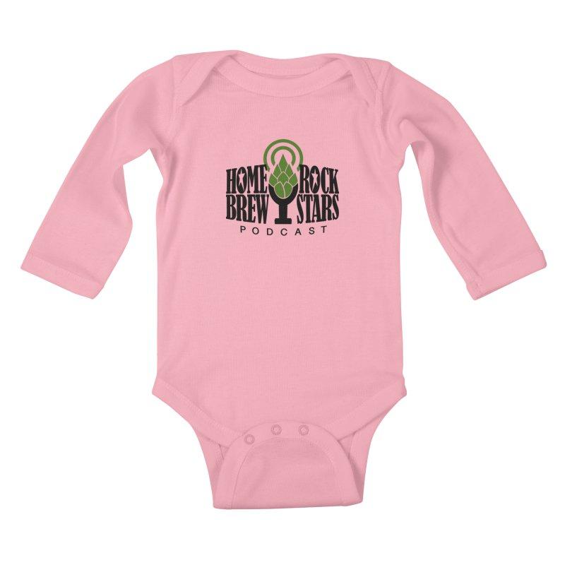 Official Logo Kids Baby Longsleeve Bodysuit by HomeBrew RockStars Merch Shop
