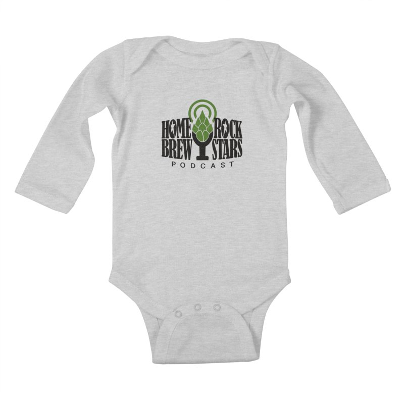 Official Logo Kids  by HomeBrew RockStars Merch Shop