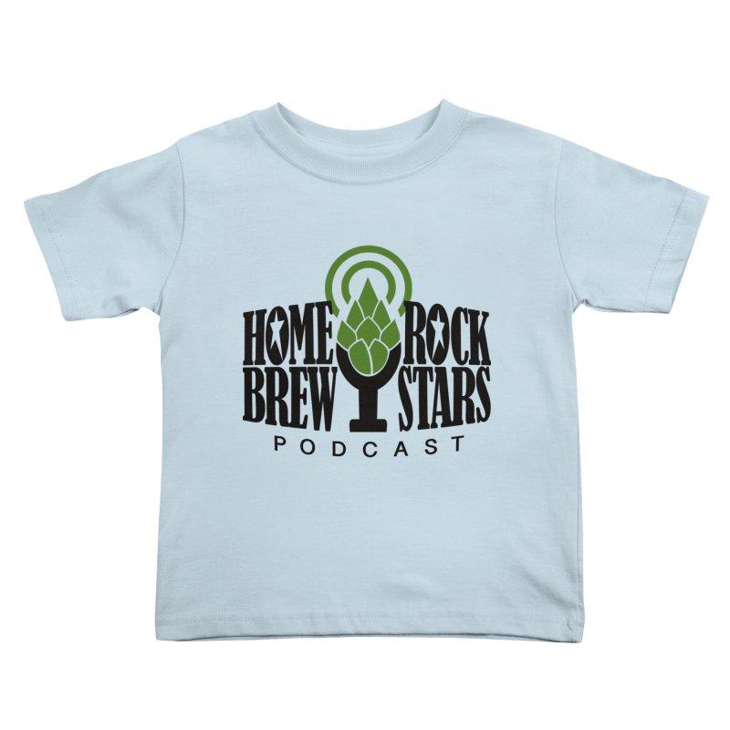Official Logo Kids Toddler T-Shirt by HomeBrew RockStars Merch Shop