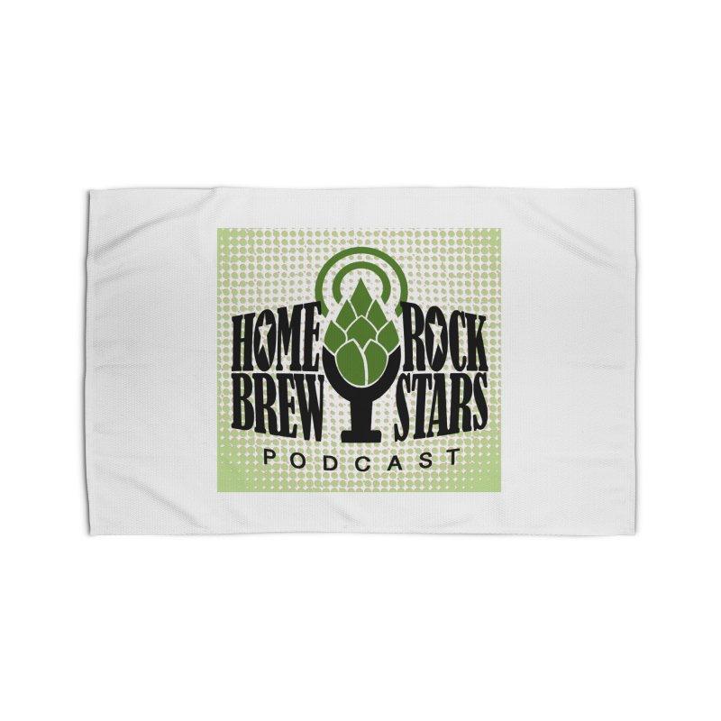 Logo Dots Home Rug by HomeBrew RockStars Merch Shop