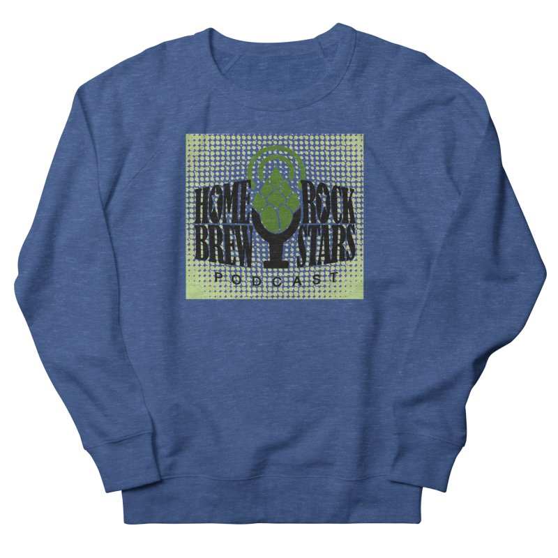 Logo Dots Men's French Terry Sweatshirt by HomeBrew RockStars Merch Shop