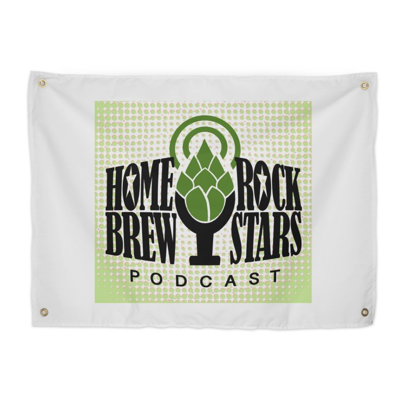 Logo Dots Home Tapestry by HomeBrew RockStars Merch Shop