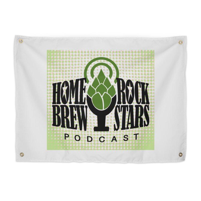 Logo Dots Home Tapestry by HomeBrew RockStars Merch Shop