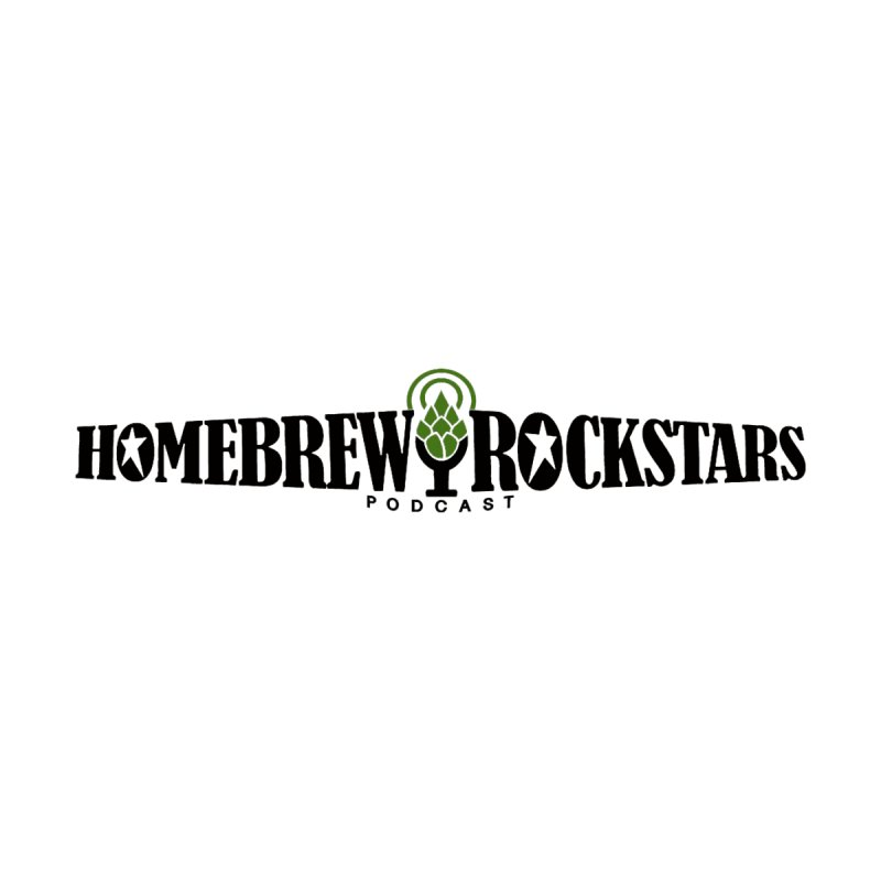 Official Logo Horizontal None  by HomeBrew RockStars Merch Shop