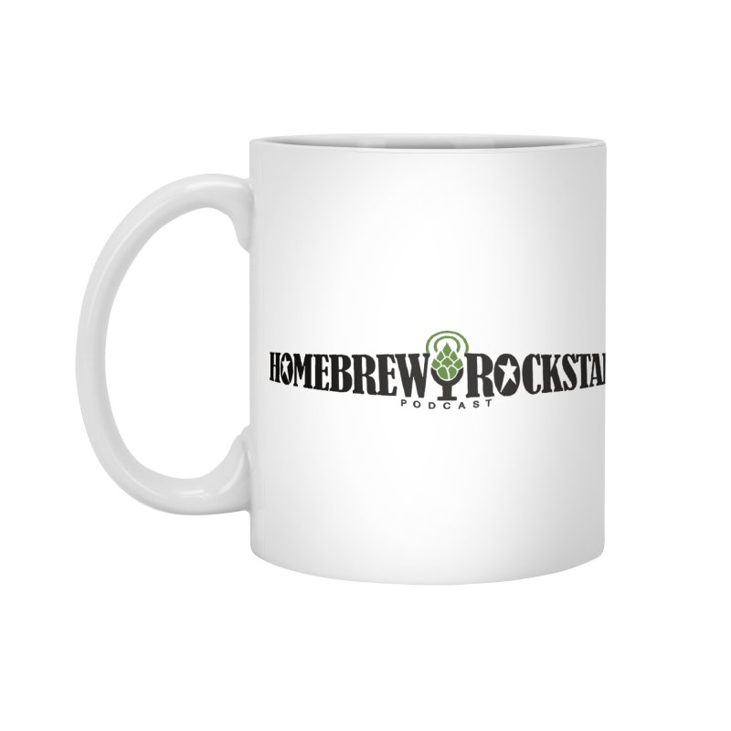 Official Logo Horizontal Accessories Standard Mug by HomeBrew RockStars Merch Shop