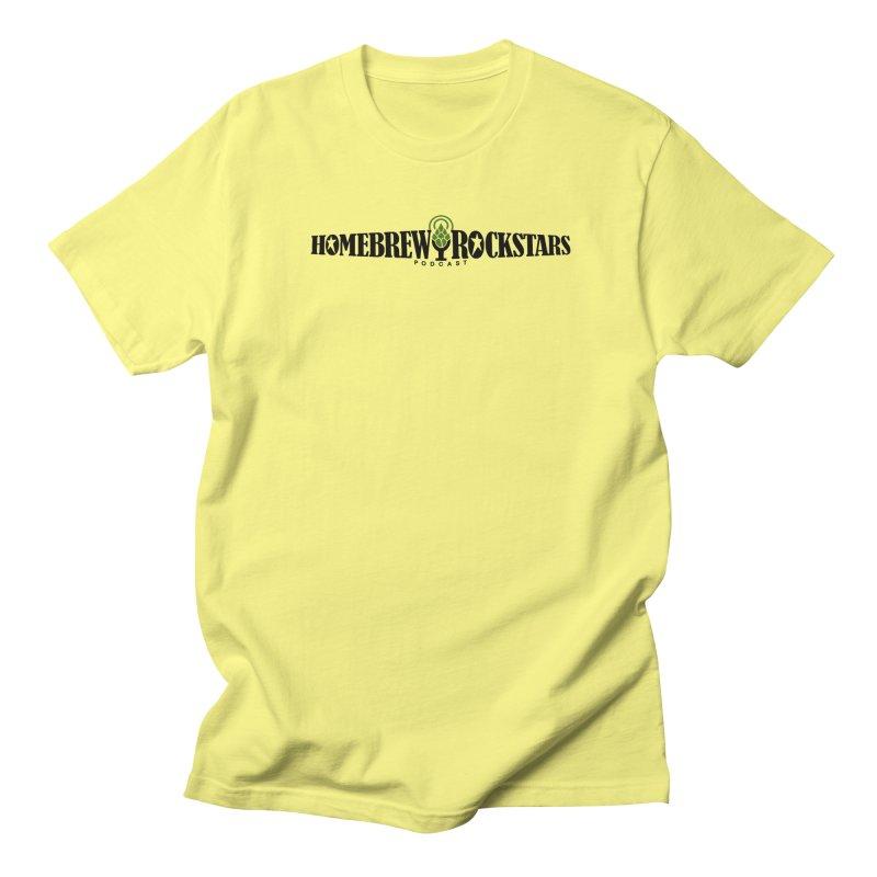 Official Logo Horizontal Women's Regular Unisex T-Shirt by HomeBrew RockStars Merch Shop