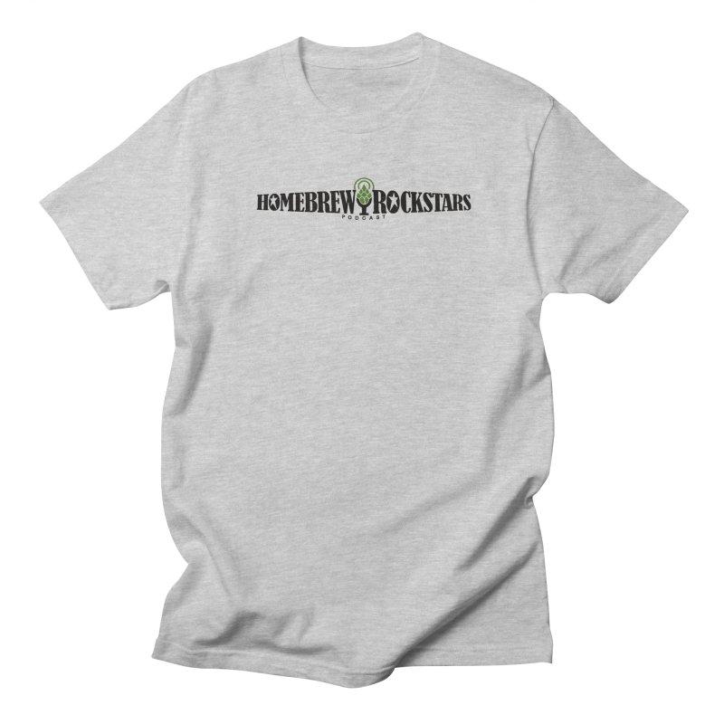Official Logo Horizontal Men's Regular T-Shirt by HomeBrew RockStars Merch Shop