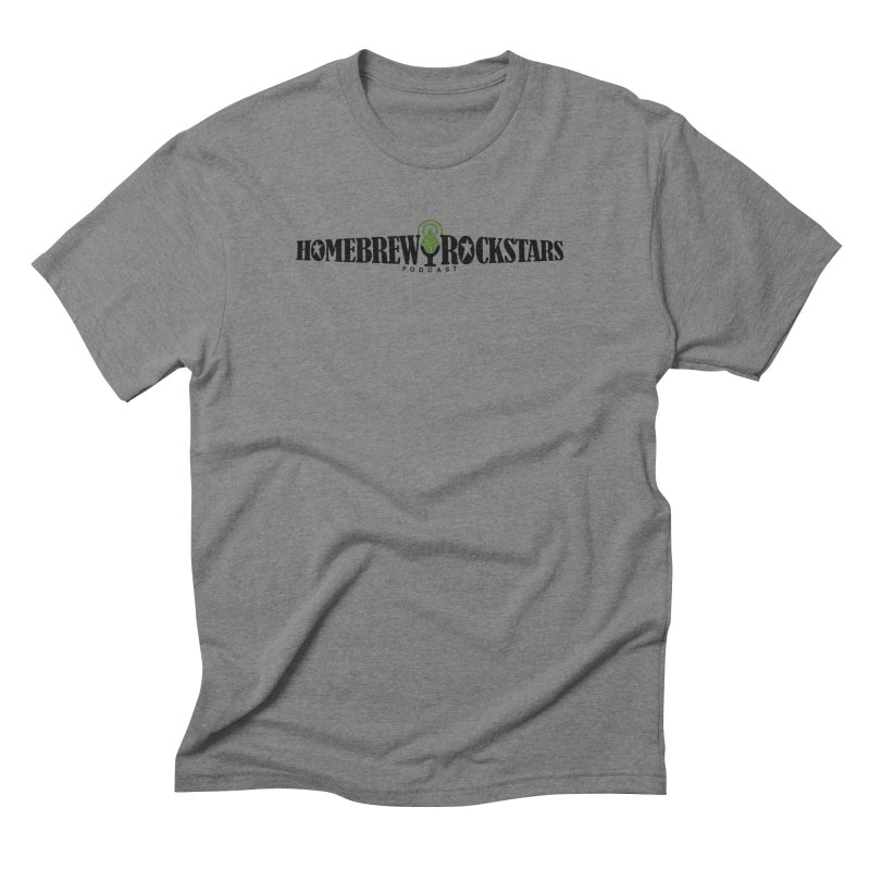 Official Logo Horizontal Men's  by HomeBrew RockStars Merch Shop