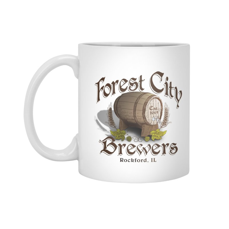 FCB Official Logo Accessories Standard Mug by HomeBrew RockStars Merch Shop