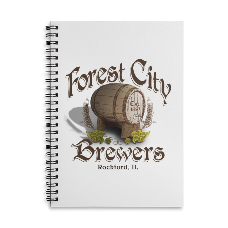 FCB Official Logo Accessories Notebook by HomeBrew RockStars Merch Shop
