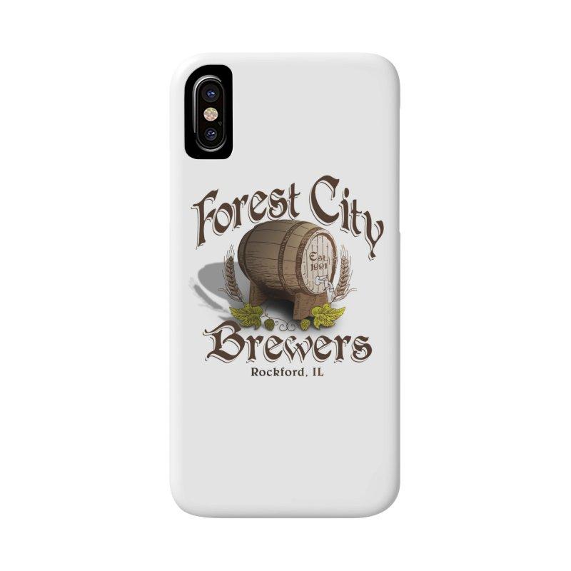 FCB Official Logo Accessories Phone Case by HomeBrew RockStars Merch Shop