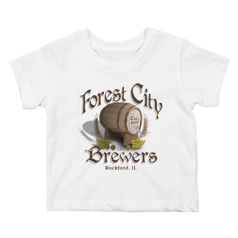 FCB Official Logo Kids Baby T-Shirt by HomeBrew RockStars Merch Shop