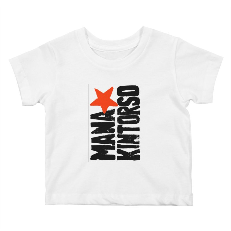 ManaKintorso Official Logo - White Kids Baby T-Shirt by HomeBrew RockStars Merch Shop