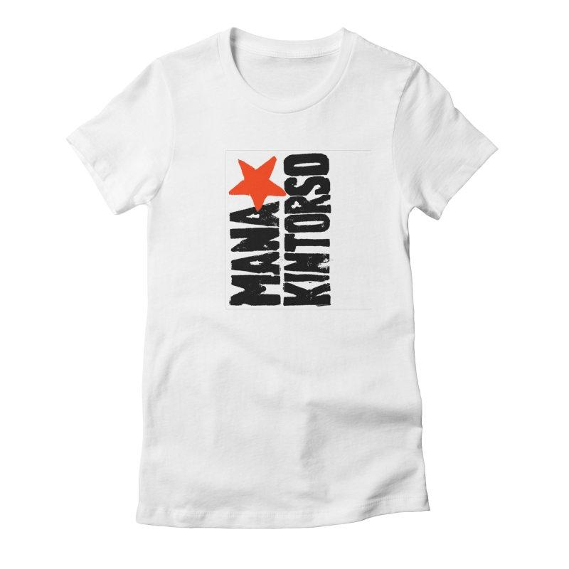 ManaKintorso Official Logo - White Women's  by HomeBrew RockStars Merch Shop