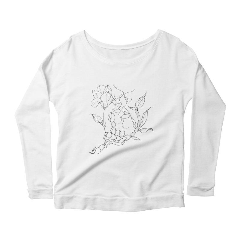 Venus in Scorpio (graphic) Women's Longsleeve T-Shirt by Homeslice Productions