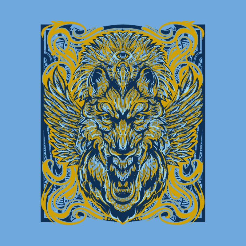 Totem Men's T-Shirt by Home Team Graphics