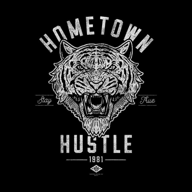 Eye of the Tiger Men's T-Shirt by Hometown Hustle