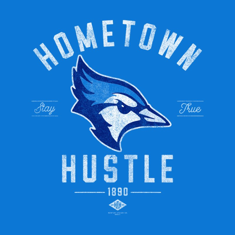 Blue Jay Hustle Accessories Bag by Hometown Hustle