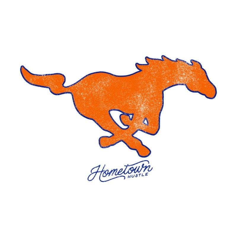 Mustang Pride Men's Longsleeve T-Shirt by Hometown Hustle