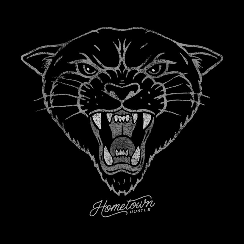 Panther Pride Men's T-Shirt by Hometown Hustle