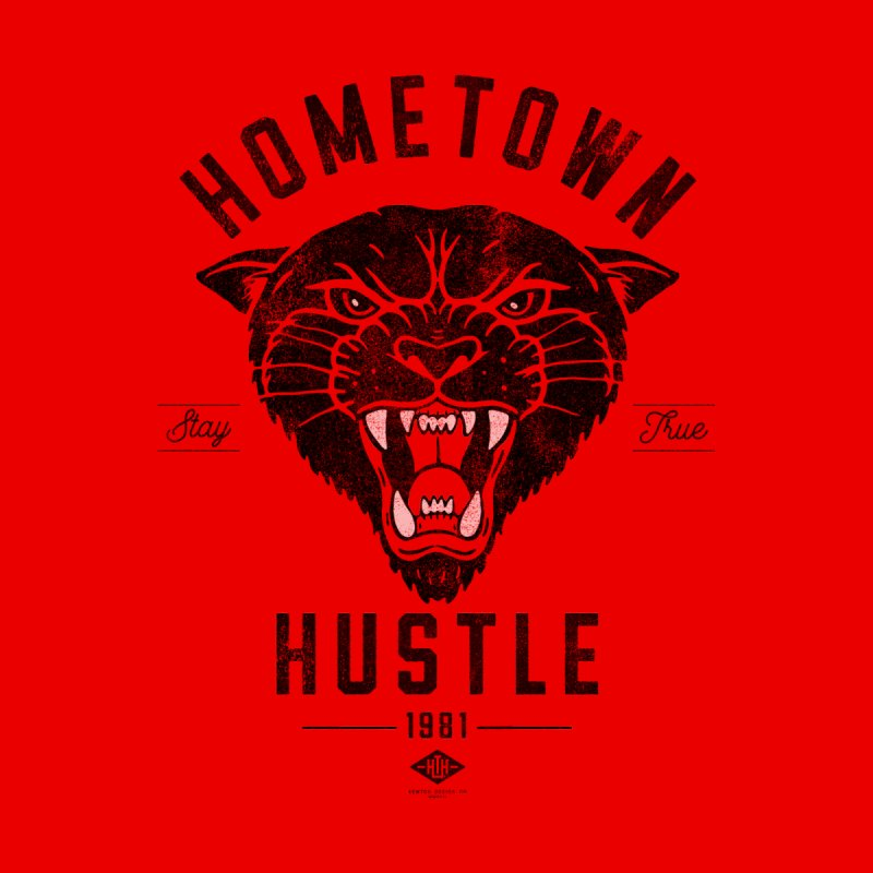 Panther Hustle Kids Toddler Pullover Hoody by Hometown Hustle