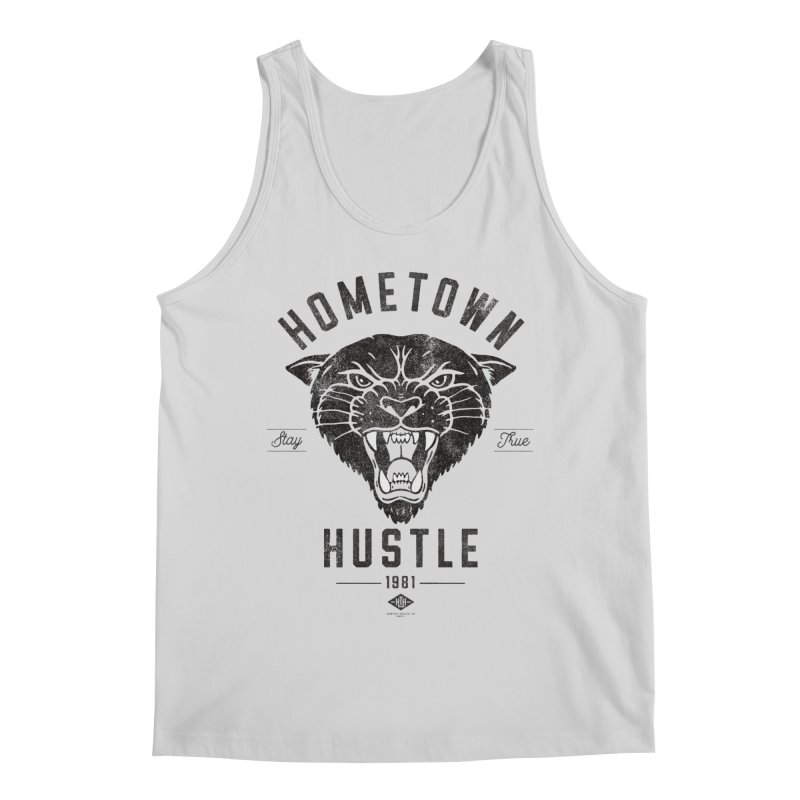 Panther Hustle Men's Tank by Hometown Hustle