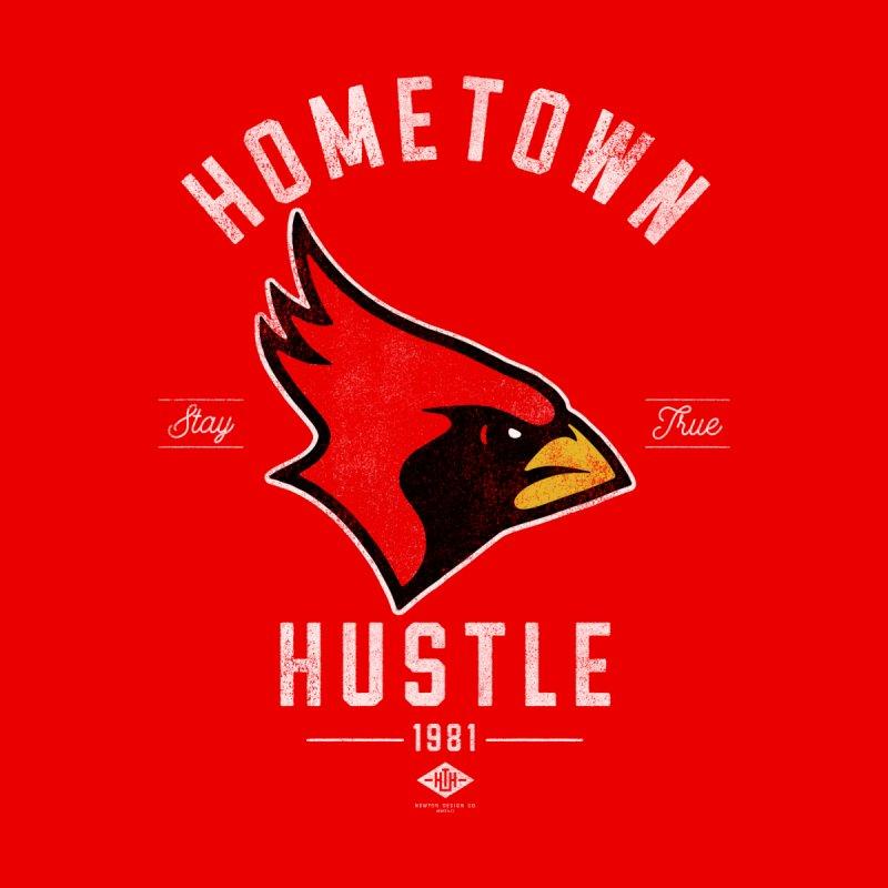 Cardinal Hustle Men's Longsleeve T-Shirt by Hometown Hustle