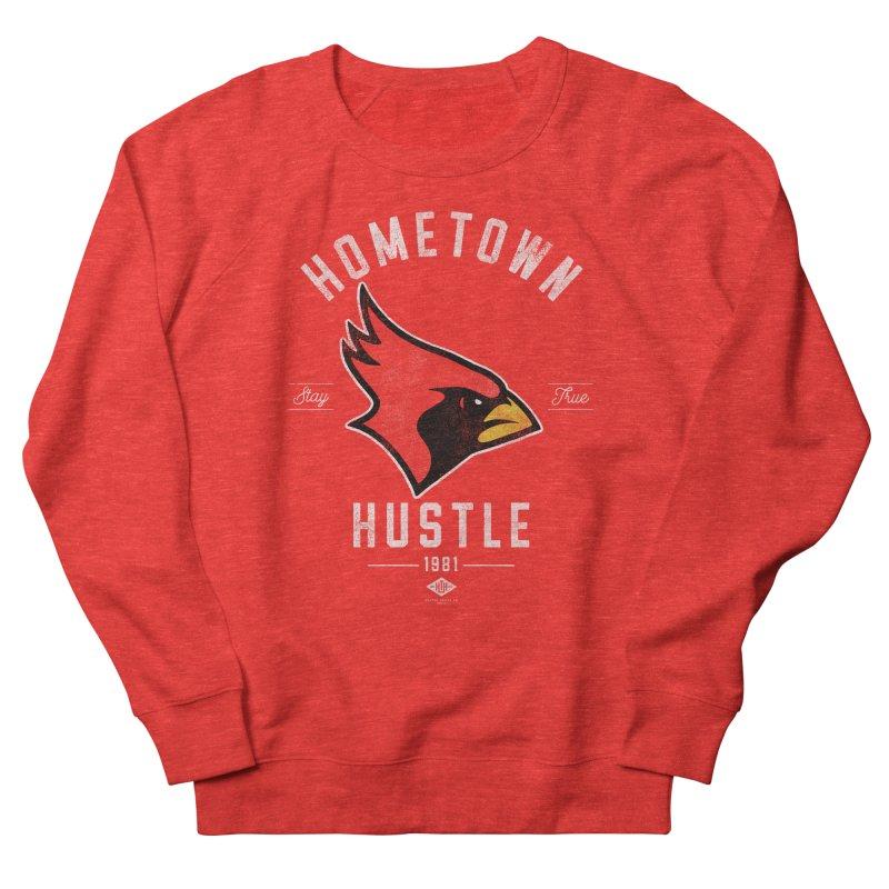 Cardinal Hustle Women's Sweatshirt by Hometown Hustle