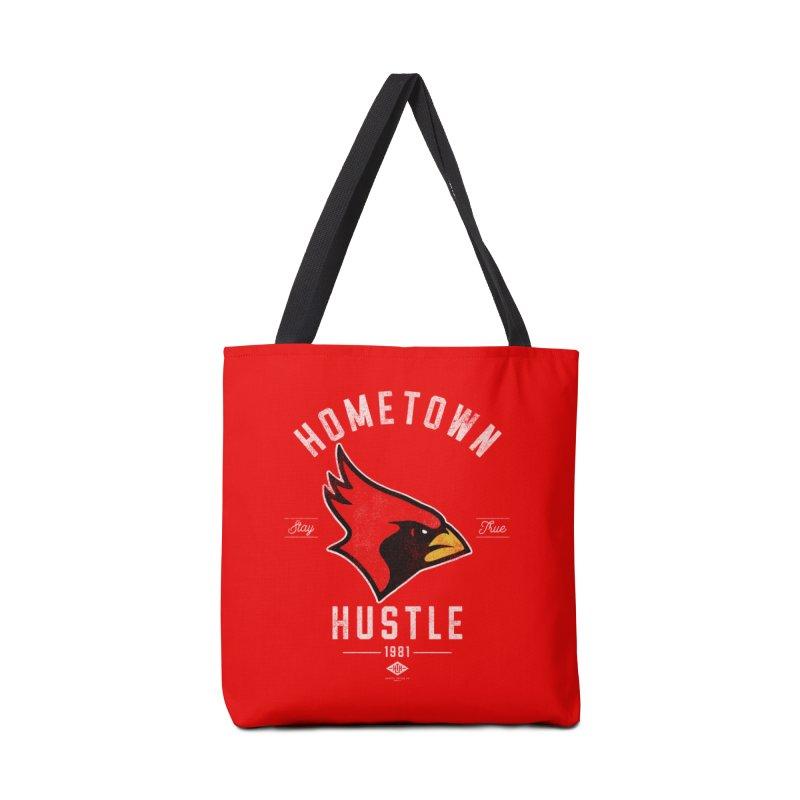 Cardinal Hustle Accessories Bag by Hometown Hustle