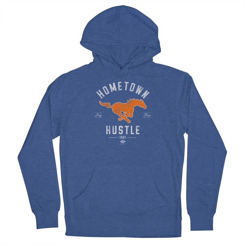 Mustang Hustle Women's Pullover Hoody by Hometown Hustle