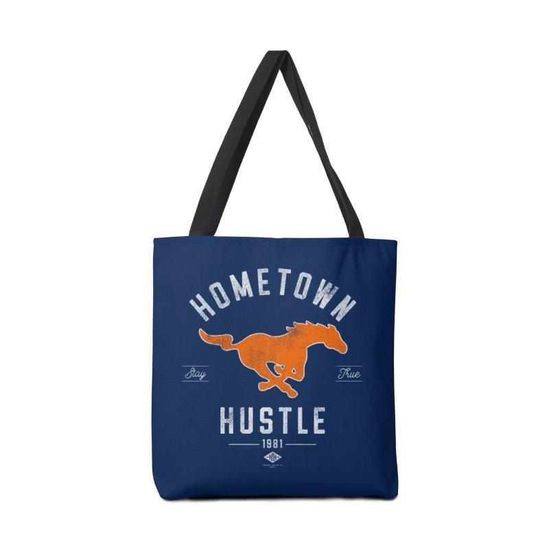 Mustang Hustle Accessories Bag by Hometown Hustle