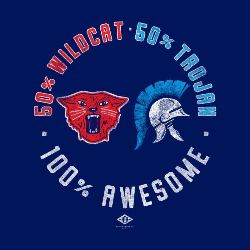 100% Awesome Kids T-Shirt by Hometown Hustle