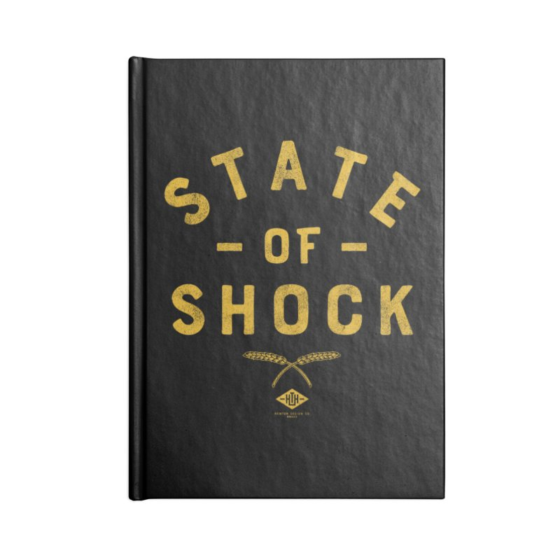 State of Shock Accessories Notebook by Hometown Hustle