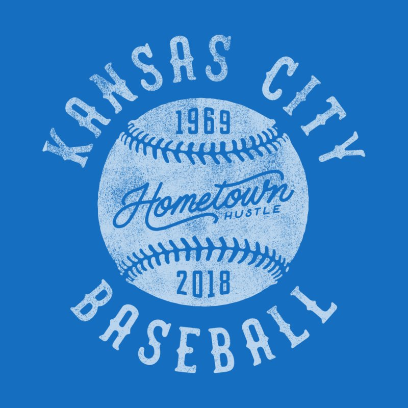 Kansas City Baseball Men's T-Shirt by Hometown Hustle