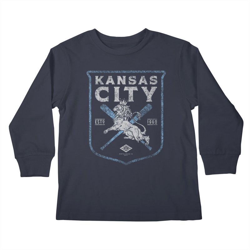 Royal Crest Kids Longsleeve T-Shirt by Hometown Hustle