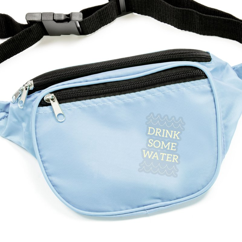 Drink Water Reminder Yellow Text Colorway Accessories Sticker by Honeybee Clothing and Wares
