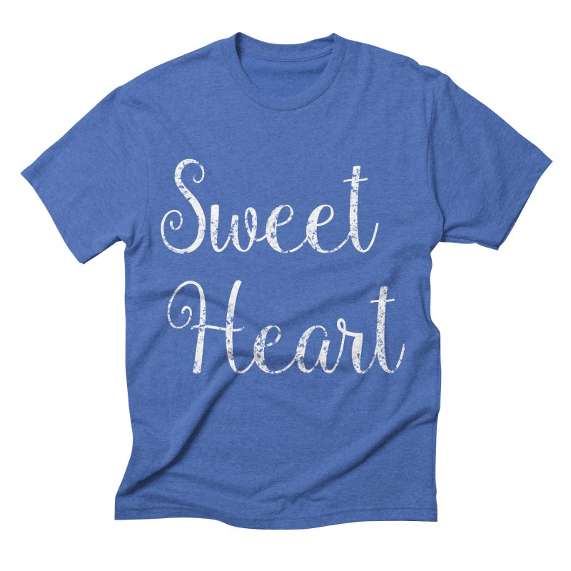 Sweet Heart Men's T-Shirt by Honeybee Clothing and Wares