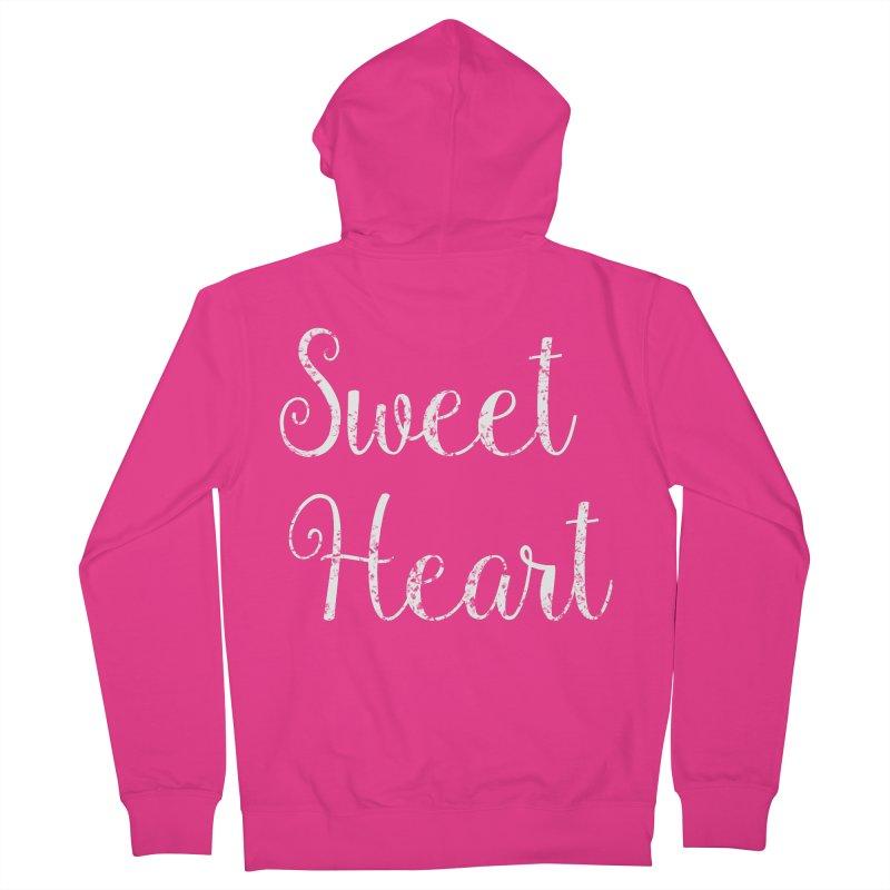 Sweet Heart Men's Zip-Up Hoody by Honeybee Clothing and Wares