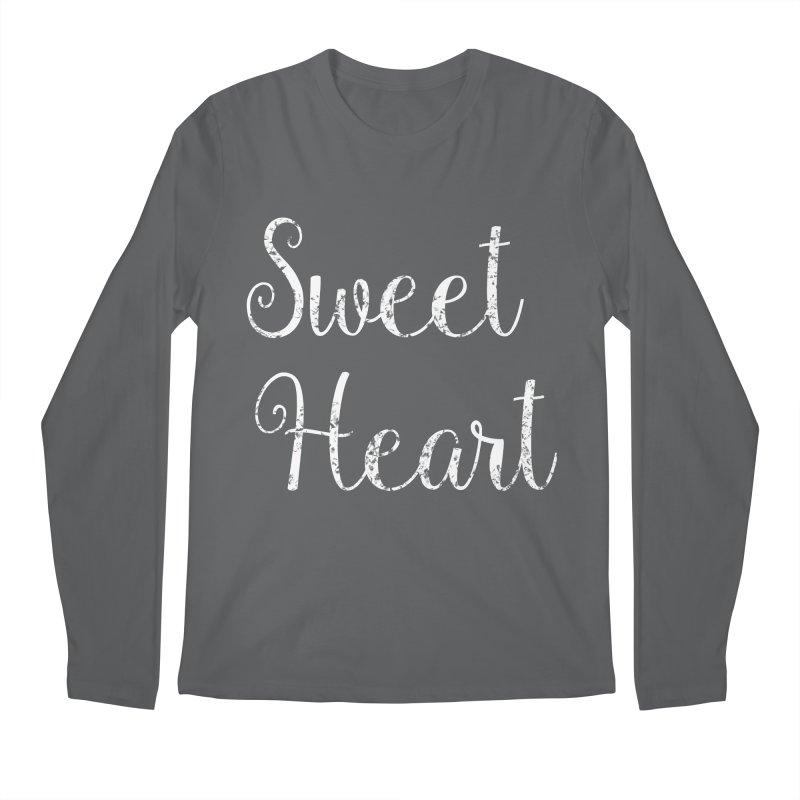 Sweet Heart Men's Longsleeve T-Shirt by Honeybee Clothing and Wares